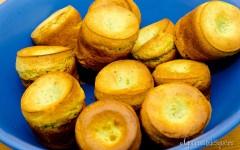 Yorkshire pudding… basil style