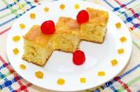 Prăjitură aromată cu portocale și iaurt